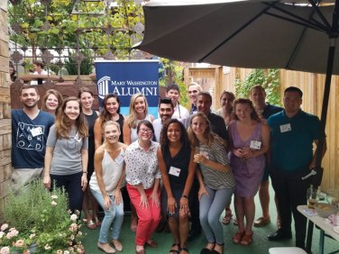 A July meetup in Washington, D.C., brought together alumni who had studied abroad.