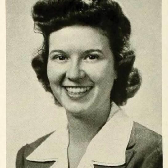 Virginia Urbin Melvin '43 is pictured in the 1943 Battlefield.