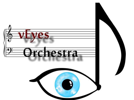 L'immagine mostra il Logo vEyes Orchestra