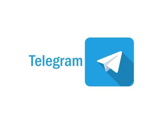 L'immagine mostra il logo di Telegram
