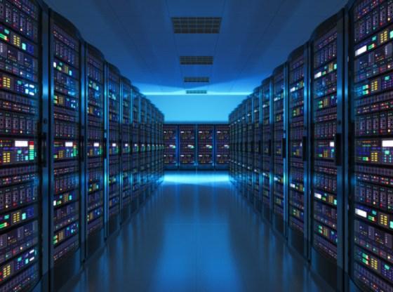 La foto mostra una banca dati