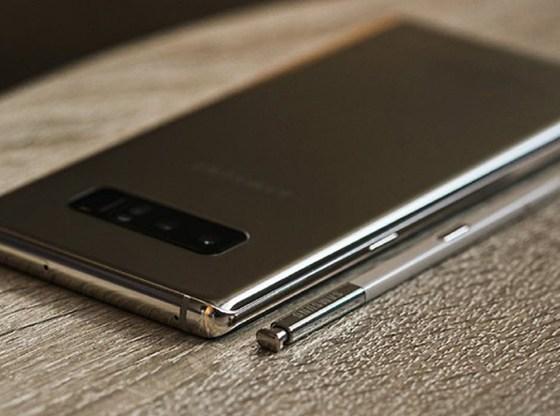La foto mostra un Samsung Galaxy Note