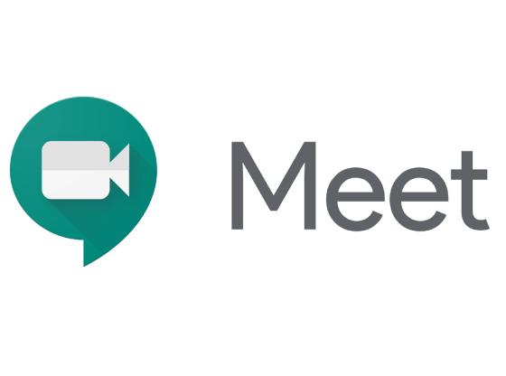 L'immagine mostra il logo di Google Meet