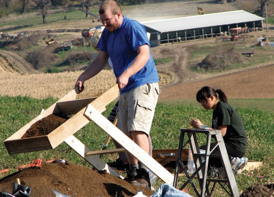 Student research contributes to cemetery restoration