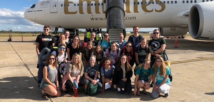 Safe Arrival in Zambia