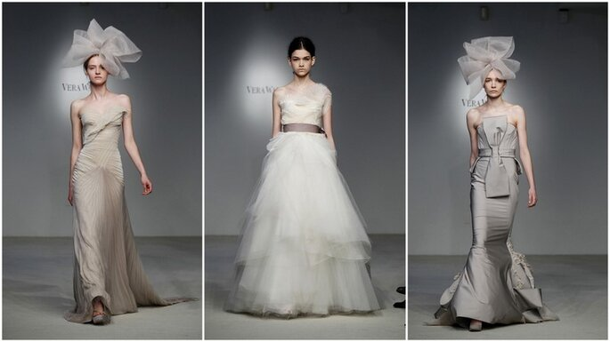 Alcuni modelli della nuova collezione Vera Wang 2012