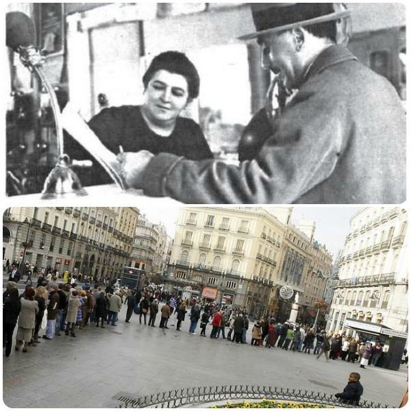 Doña Manolita, 100 anni dopo. Foto via ABC