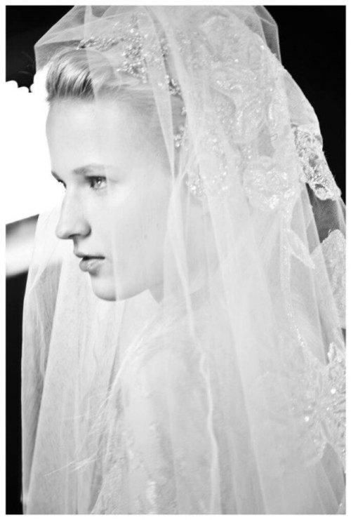 Elige el velo de novia de acuerdo con el tipo de cara - Foto Elie Saab