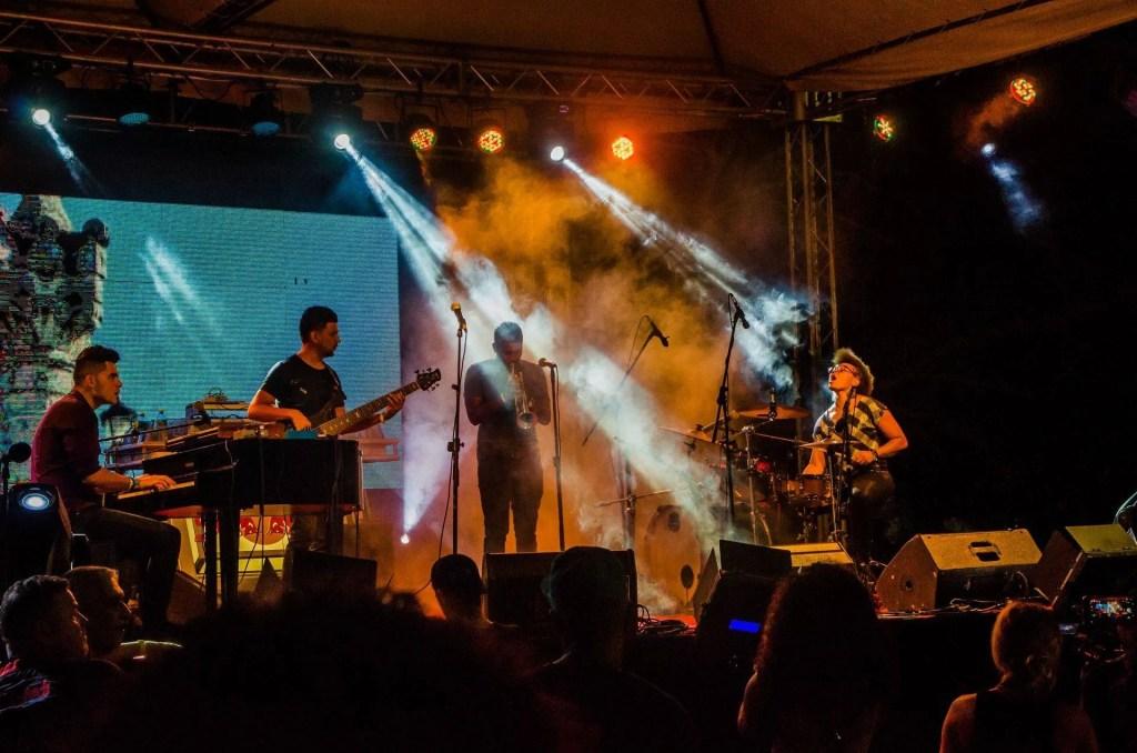 Yissy García and Bandancha at the Varadero Josone Festival. Photo: Kako Escalona / Magazine AM: PM.