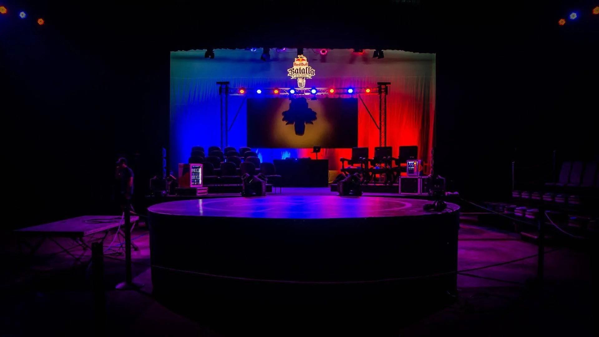 La Final Nacional de la Red Bull Batalla de los Gallos Cuba 2018 tuvo lugar en el Teatro Bertolt Brecht. Foto: Kako Escalona / Magazine AM:PM.