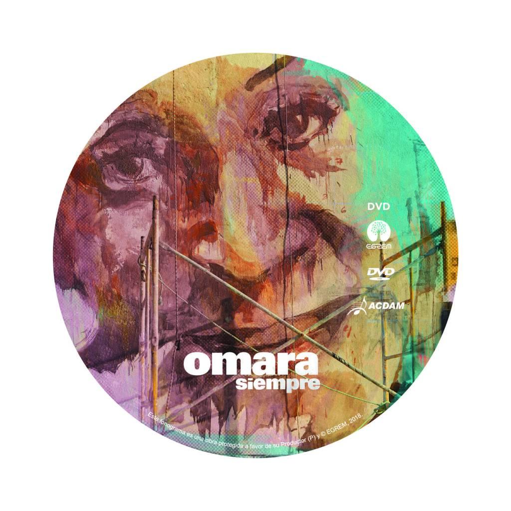 Photo: Cover of the album Omara Siempre
