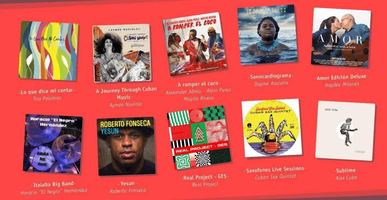 Mejores discos cubanos del 2019. Ilustración: Mayo Bous / Magazine AM:PM.