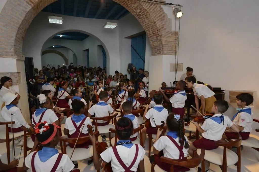 Centro Sinfónico Infantil. Foto: Néstor Martí.