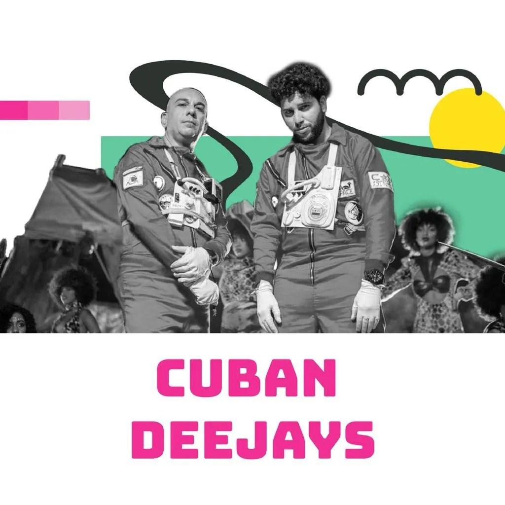 Cuban Deejays. Foto: Tomada de las redes sociales / Diseño: Marlene P. Posada.