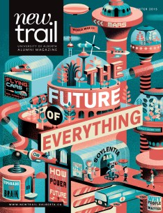 Marcey Andrews, Art Director; Lisa Cook, Editor - The Future of Everything (New Trail)