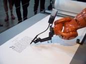 Robotlab, Bios (bible), un robot transcrivant la bible.