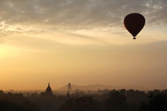 Viaggio in mongolfiera in Asia