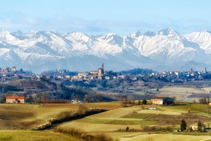 Montagne e colline nei dintorni di Casale Monferrato