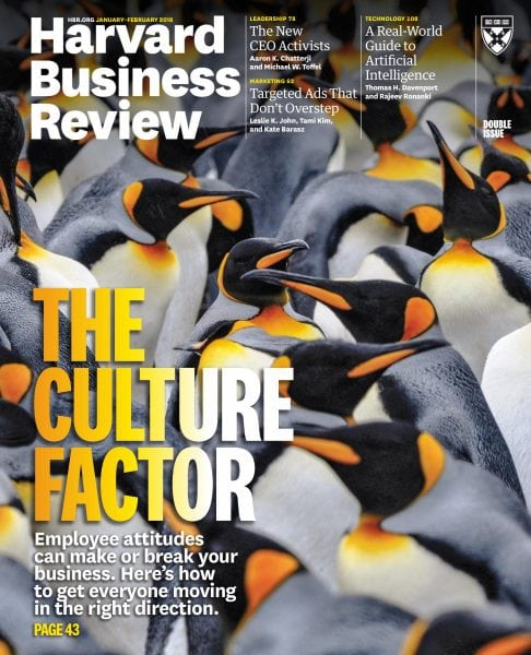 Harvard Business Review January 01 2018 PDF Download Free