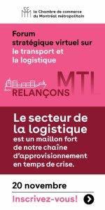 Forum stratégique virtuelle sur le transport et la logistique