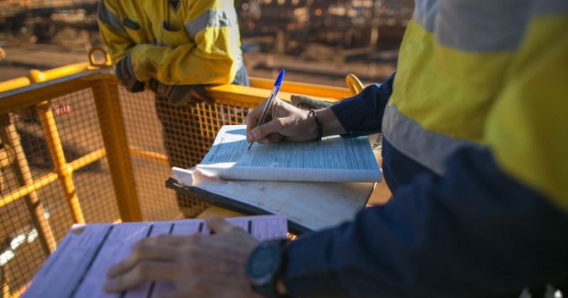 Superviseur de chantier minier
