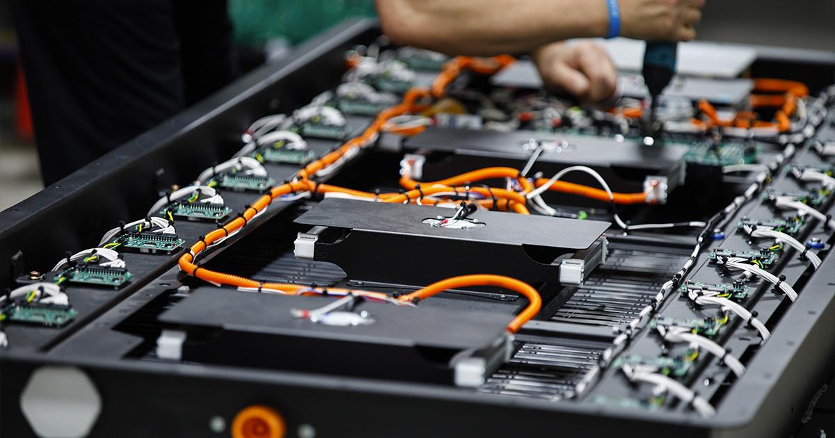 Batterie d'autobus électriques de Lion Électrique