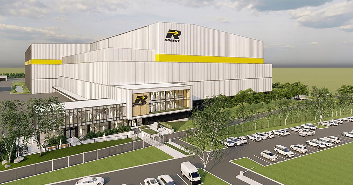 Centre de distribution automatisé du Groupe Robert