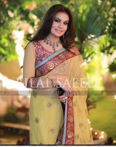 Beautiful Sadia Imam in Recent family wedding