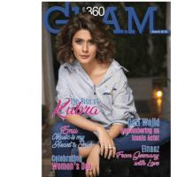 Kubra Khan Photo Shoot for Glam magazine
