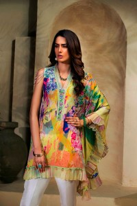 Luxury Silk Wear Collection 2018 by Farida Hasan (1)