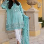 Maria B Lawn Eid Dresses Collection 2018 (12)