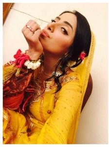 Sanam Chauhdry Latest photos from Mehndi photoshoot