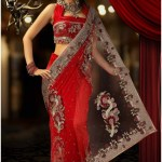 Silk Net Saree Blouse Designs 2018 for Weddings