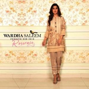 Wardha Saleem Festive Dresses Eid Dresses 2018 (8)