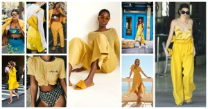 Yellow Colour Dresses Trend 2018 (6)