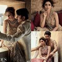 Fawad Khan & Mahira Khan's Shoot For Brides Today (1)