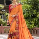 Indian Wedding Saree Trends 2018 (19)