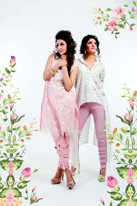 Party & Eid Wear Dresses Collection 2018 By Sanam Chaudhri