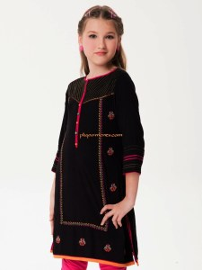 Teen Age Girls Eid Dresses Collection 2018 (10)