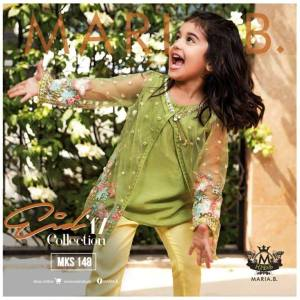 Teen Age Girls Eid Dresses Collection 2018 (22)
