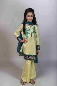 Teen Age Girls Eid Dresses Collection 2018 (6)