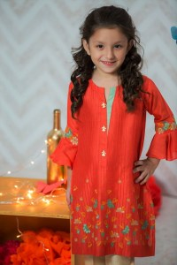 Teen Age Girls Eid Dresses Collection 2018 (9)