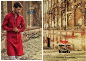Urban Studio Men Dresses Eid Collection 2018 by Ismail (1)