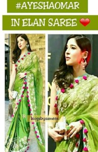 Ayesha Omar traditionally dressed at an event in the United States (6)