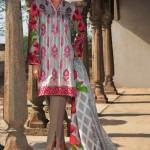 Embroidery Lawn Collection 2018 By Warda Kashmiri (8)