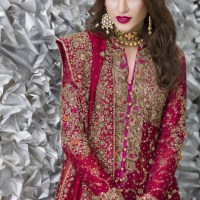 Exclusive Bridal Dresses Color Combination in Pakistan 2018 (10)