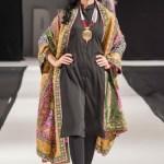 Shawls Collection 2018 at Pakistan Fashion Week London By Komal Nasir