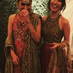 Syra Shahroze & her Sister Palwasha Yousaf at Friend Wedding (12)