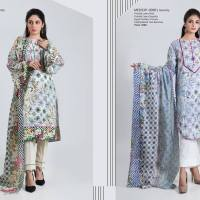 Bonanza Satrangi Eid Festive Two & Three Piece Collection 2019 (37)