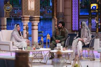 Yasir Nawaz and Neelum Muneer in Ehsaas Ramzan Transmission 2019 (5)